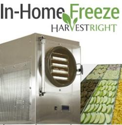 harvest right freeze drying machine