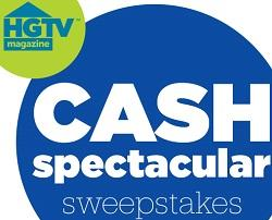 HGTV Cash Spectacular Sweepstakes
