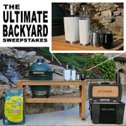 ultimate backyard sweepstakes