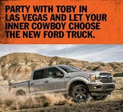 Toby Keith Cowboy Sweepstakes