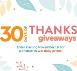 HGTV 30 Days of Thanks Giveaway