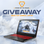 Win a ASUS TUF Gaming Laptop Giveaway in online sweepstakes