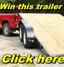 Car Trailer for Christmas Giveaway