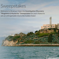 Mugshots & Mysteries Sweepstakes