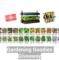 Gardening Goodies Giveaway