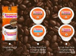 Free Dunkin coffee sample
