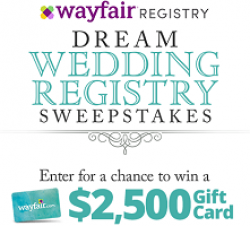HGTV Dream Wedding Registry Sweeps