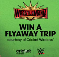 Wrestlemania Flyaway Sweepstakes