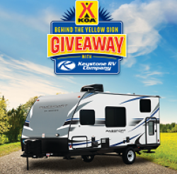 koa behind the sign giveaway koa behind the yellow sign sweepstakes 1338
