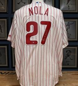 Aaron Nola Signed Jersey Giveaway