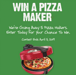 Furmanos Pizza Maker Sweepstakes