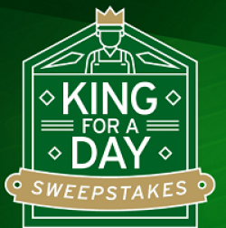 King For A Day Sweepstakes