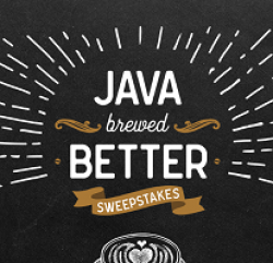 Java House Brewed Better Sweepstakes