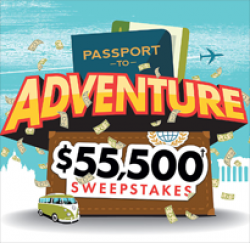 Passport to Adventure Sweepstakes
