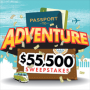 Win a Passport to Adventure Sweepstakes in online sweepstakes
