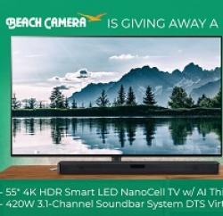 Beach Camera LG Smart TV Sweepstakes
