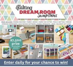 Quilting Dream Room Sweepstakes