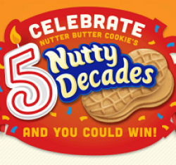 Five Nutty Decades Sweepstakes