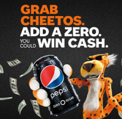 Grab Cheetos, Add a Zero Sweepstakes