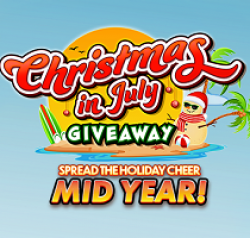 Hollywood Casino Xmas in July Sweeps