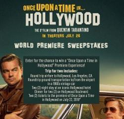 Hollywood Premiere Experience Sweeps