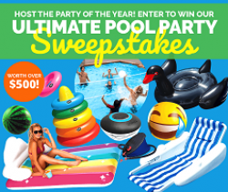 Ultimate Pool Party Sweepstakes