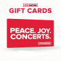 Win a Concerts for a Year Sweepstakes in online sweepstakes