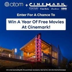 Cinemark Year of Movies Sweepstakes