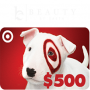 Win a $500 Target Gift Card Sweepstakes in online sweepstakes