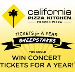 Concert Tickets for a Year Sweepstakes
