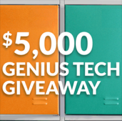 $5,000 Genius Tech Giveaway