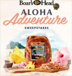 Boars Head Aloha Sweepstakes