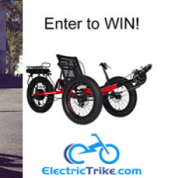 Electric Fat Tad Trike Sweepstakes