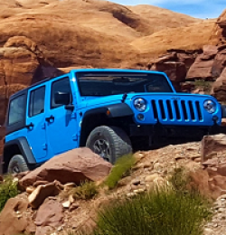 Laticrete Jeep Wrangler Sweepstakes