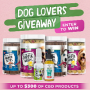 Win a Medipets CBD Dog Lovers Giveaway in online sweepstakes