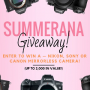 Win a Summer Camera Giveaway in online sweepstakes
