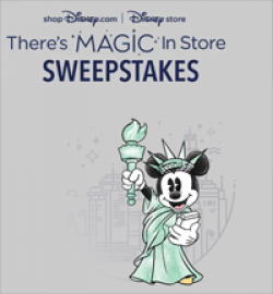 Theres Magic in Store Sweepstakes