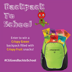 Crispy Green Back to School Giveaway