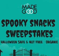 Spooky Snacks Sweepstakes