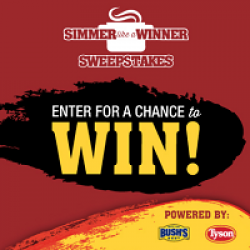 Simmer Like a Winner Sweepstakes