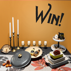 Maille Holiday Table Makeover Sweeps
