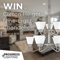 Clifton Heights Chandelier Sweepstakes