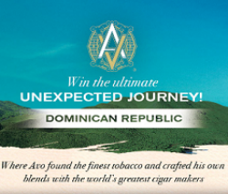 The AVO Cigar Sweepstakes