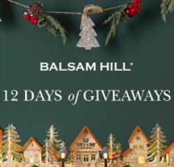 Balsam 12 Days of Christmas Giveaway