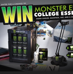 Monster Energy Campus Gear Sweeps