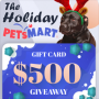 Win a Bark Wiki $500 PetSmart Giveaway in online sweepstakes