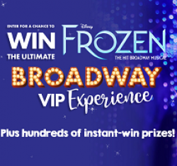 Claires Broadway Experience Sweeps