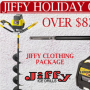 Win a Jiffy Holiday Giveaway in online sweepstakes