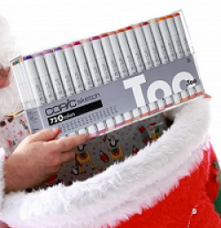 COPIC Markers Holiday Giveaway