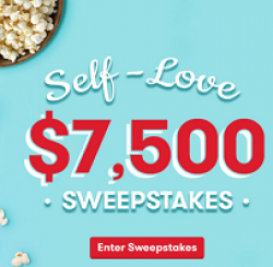 Tasty Rewards Self-Love Sweepstakes prize ilustration